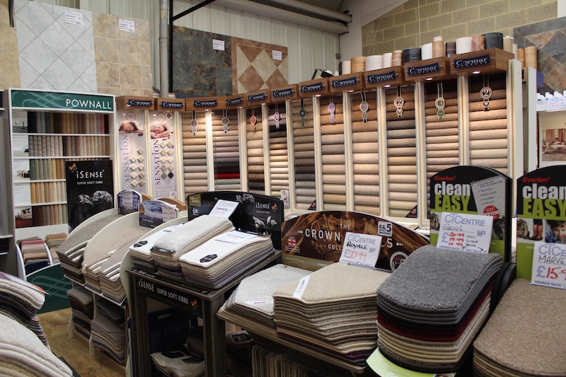 Visit Carpet Showroom in Basingstoke
