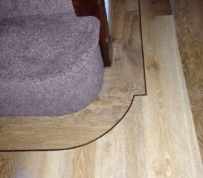 Karndean Pale Lined Oak With 5ml Designed Border (KP94)