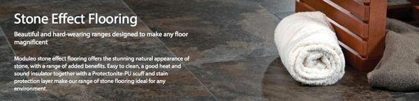 Moduleo Stone effect flooring