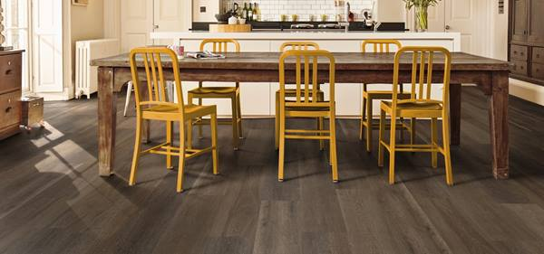 Washed Velvet Ash Kitchen Flooring Basingstoke