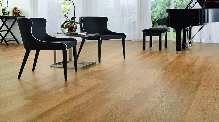 Oak flooring for living rooms